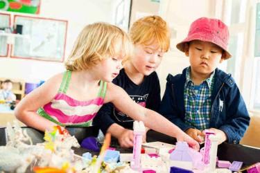 Children at Inglewood Kindergarten.