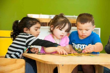 Children at Kindercare Strickland Street.