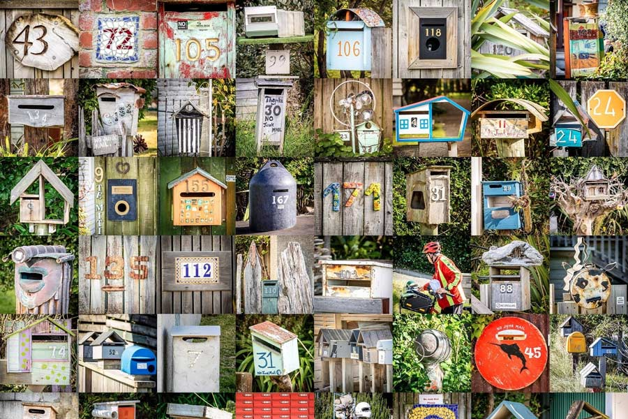 Letterboxes in a community